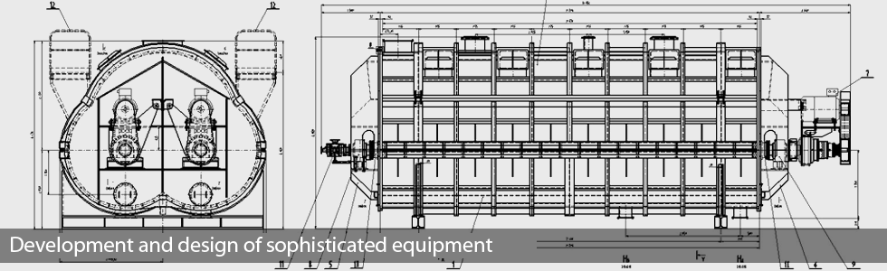 Development and design of sophisticated equipment
